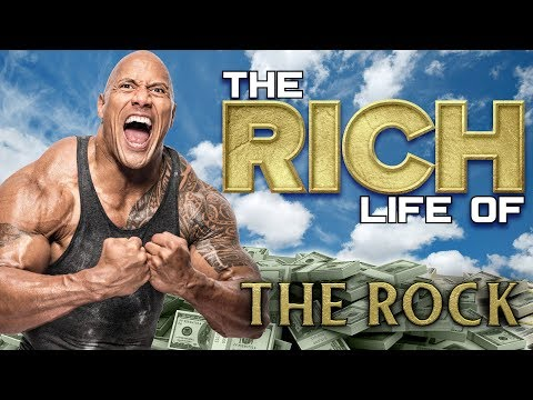 Dwayne The Rock Johnson   The Rich Life   Forbes Net Worth 2019 ( Cars, Mansions, Gym & more )