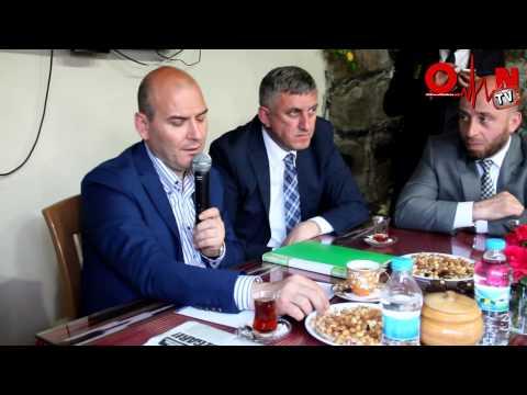 Süleyman Soylu Of'ta Gazeteciler ile Bir araya geldi