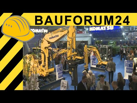 Komatsu PC200-8 Hybrid - Inside Cab & Walkaround - Bauforum24 bauma 2010 Report