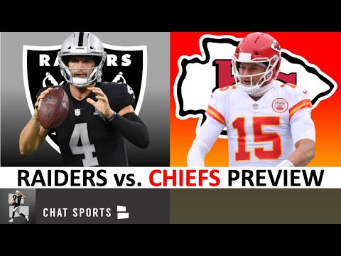 Raiders vs Chiefs: Preview, Keys To Victory, Final Score Prediction | NFL Week 11 Games To Watch