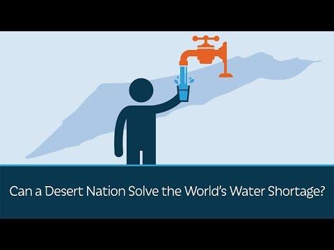 Dokáže pouštní země vyřešit nedostatek vody?