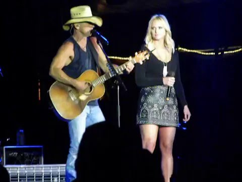 Kenny and Miranda in concert together!