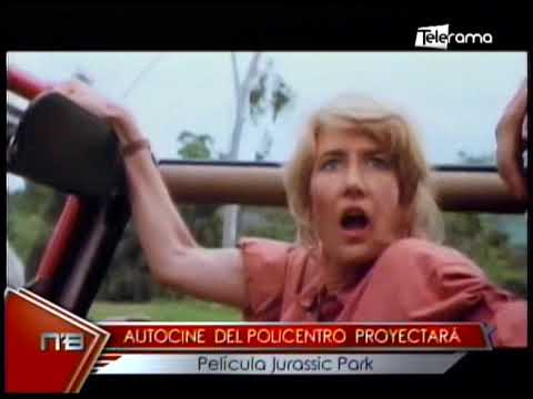 Autocine del Policentro proyectará películas Jurassic Park