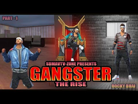 ROCKY BHAI   KGF   PART-1   FREE FIRE ACTION STORY   WAQT SABKA BADALTA HAI   FREE FIRE WEB SERIES