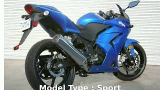 2. 2010 Kawasaki Ninja 250R  motorbike Engine Transmission superbike Specification Details