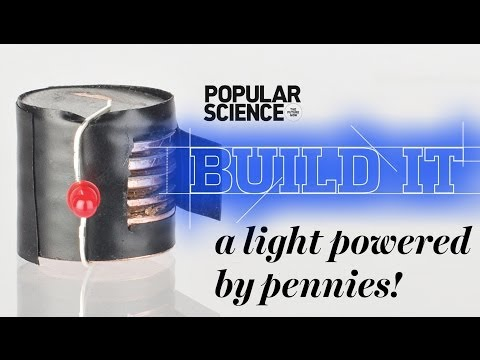 Make a Self-Powered Holiday Light - Popular Science Build It