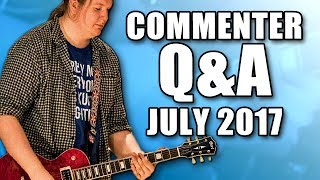 Your questions answered, and your comments responded to! ============================== Consider subscribing to the channel for more guitar ...