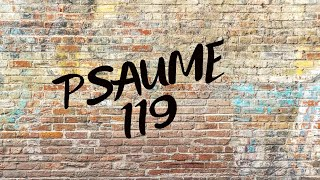 Psaumes 119 : 1-20