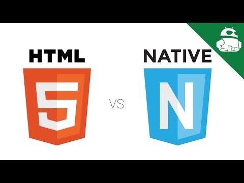 HTML5 Apps VS Native Apps (видео)