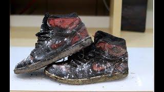 Video Heavily Obliterated $1200 2011 Air Jordan Banned 1's DEEP CLEANED! MP3, 3GP, MP4, WEBM, AVI, FLV Maret 2019
