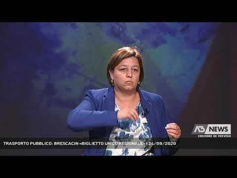 TRASPORTO PUBBLICO: BRESCACIN «BIGLIETTO UNICO REGIONALE» | 24/09/2020