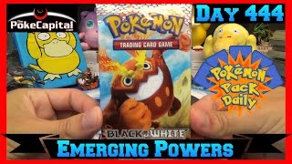 Pokemon Pack Daily Emerging Powers Booster Opening Day 444 - Featuring ThePokeCapital by ThePokeCapital