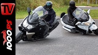 6. Suzuki Burgman 650 vs BMW C 650 GT | Scooter Battle