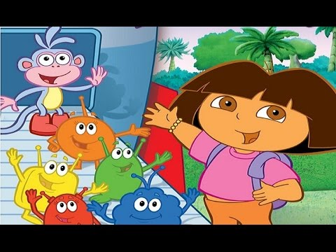 Dora a Exploradora | Journey to the Purple Planet | Full Movie Game Completo | ZigZag