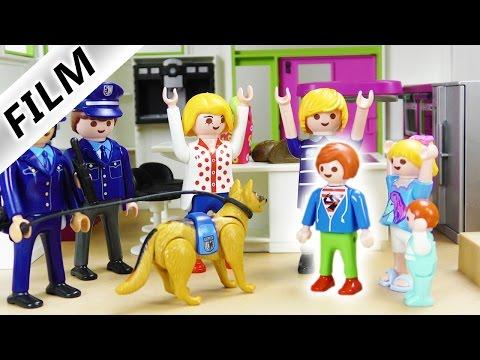Playmobil Film deutsch | JULIAN WIRD VERMISST!!! POLIZEI EINSATZ MIT SPÜRHUND bei Familie Vogel