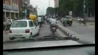Patna India  City pictures : Crazy traffic in Patna, India