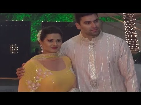 Kasam Tere Pyaar Ki actress Kratika Sengar at Shilpa Shetty's Diwali Bash 2017