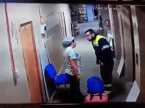 Chile: Paramédico patea la barriga de su pareja embarazada (VIDEO)