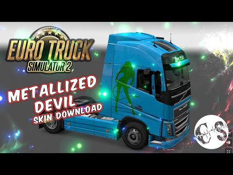 Volvo FH 2012 Metallized Devil Skin