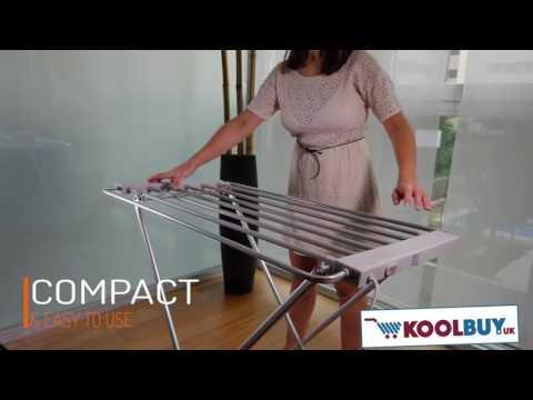 Comfy Dryer Electric Clothes Horse 6 Bars
