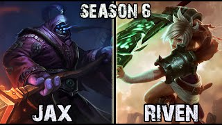 Best Jax Korea vs Riven TOP Ranked Challenger [Patch 5.23] League of Legends Gameplay Best Jax 5.23 Match Up Pre-Season 6 Ranked Pro Replay Jax vs ...