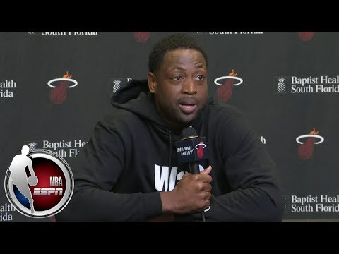 Video: Dwyane Wade reflects on his final season during media day | NBA on ESPN