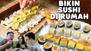 Video Ternyata Sushi Rumahan Gak Kalah Enaknya !!! MP3, 3GP, MP4, WEBM, AVI, FLV Februari 2019