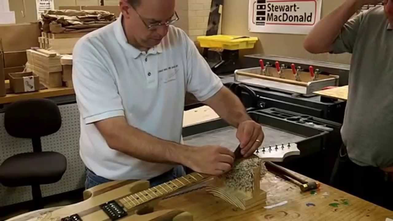 Guitarbuilding.org Guitar Setup Video  #1
