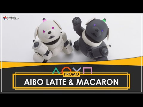 AIBO: Latte & Macaron - Promo Video from Official PlayStation 2 Magazine (2002)