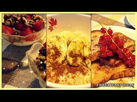 3 colazioni buonissime!
