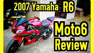 6. 2007 Yamaha R6 Review | Moto6Sanity Moto6 Review