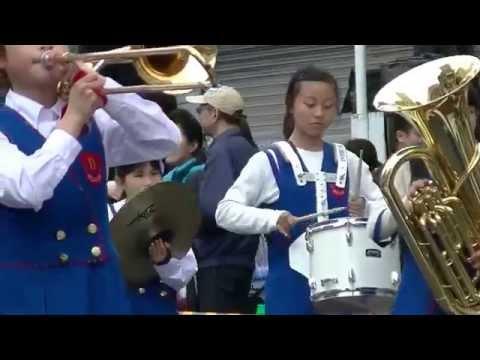 道後小学校~2015松山春まつり(お城まつり)