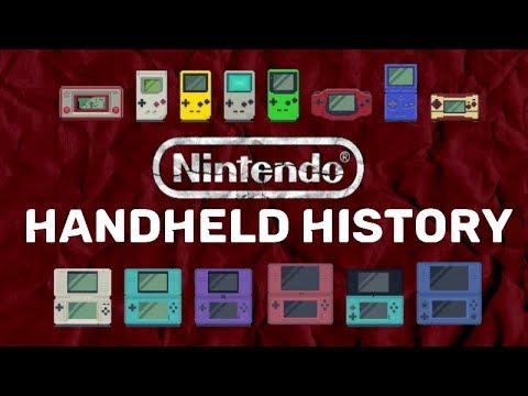 NINTENDO HANDHELD HISTORY (1980-2018)