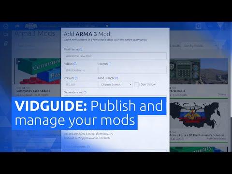 VIDGUIDE mod Management