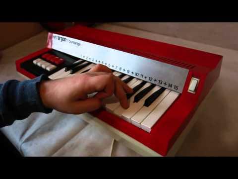 Organo bontempi hit 1969