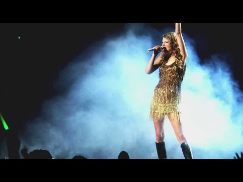 "Taylor Swift -  ""Sparks Fly"" Live at Speak Now World Tour HD"