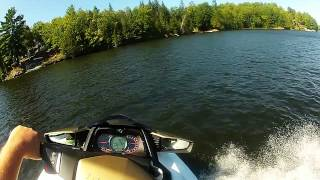 9. 2012 SeaDoo GTX 155 on Manitouwabing Lake