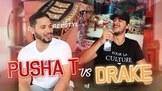 PUSHA T vs DRAKE ! LE BEEF !