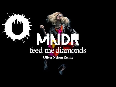 MNDR - Feed Me Diamonds (Oliver Nelson Remix) (Cover Art)