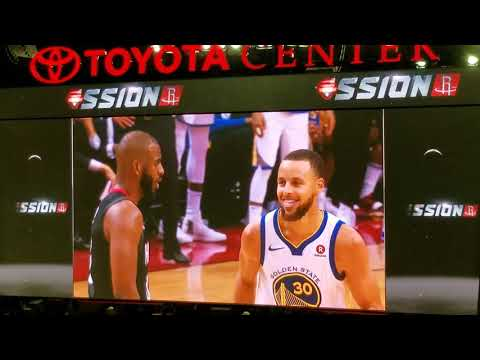 Houston Rockets Tribute to Chris Paul