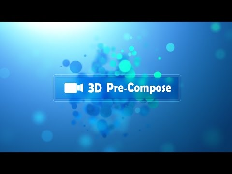 compose - The 3D Pre-Compose Script makes it easy to pre-compose 3D-aware layers by automatically copying all cameras & lights into the new comp with linked expression...