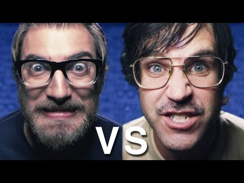 link - Comment: Who won? iTUNES: http://bit.ly/NerdvsGeekSong Get the hookup on electronic deals: http://www.TigerDirect.com/RL FREE karaoke/instrumental version. M...