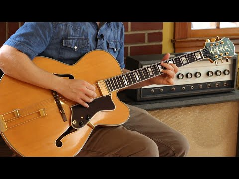 A Sprightly 12 Bar Blues Solo, Aiming for 3rds: Playing to Changes Guitar Lesson