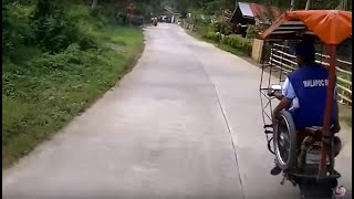 Maasin Philippines  City new picture : Riding a motor through the Rain forrests of Philippines. Danao to Maasin City