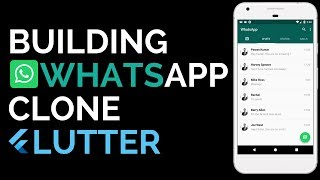 Flutter: Building a WhatsApp Clone from scratch | UI | Material Design