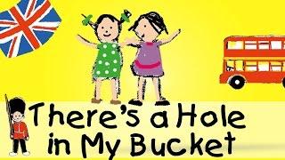 A hole in the bucket - die beliebtesten englischen Kinderlieder sind auch hier im Kindergarten oft ein Renner. Sing und lern...
