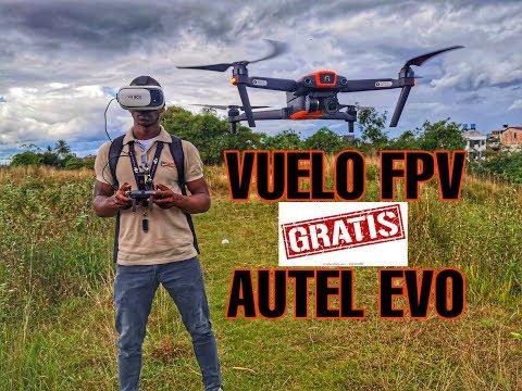 MODO FPV EN DRONE AUTEL EVO GRATIS en ESPAÑOL