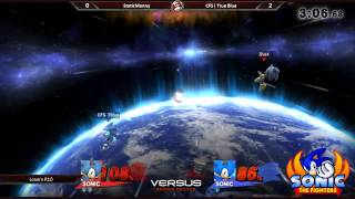 True Blue (Sonic) vs. StaticManny (Sonic) – By far the dumbest match I have ever seen