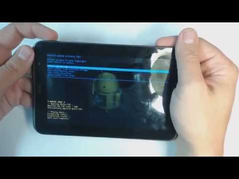 Samsung Galaxy Tab 2 P3100 - How to remove pattern lock by hard reset