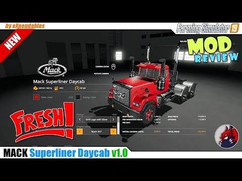 Mack Superliner Daycab 1980'S v1.2
